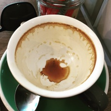 Just another drained coffee from Little Land Coffee Company
